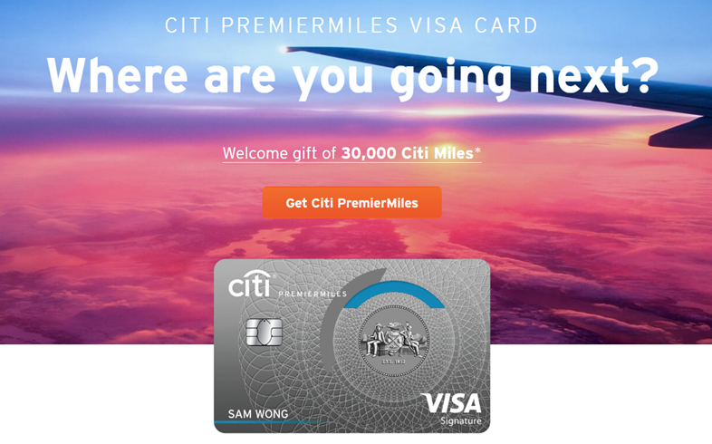 Citi extends sign up bonuses on Citi PremierMiles and Citi