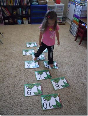 numeracy activities for kids