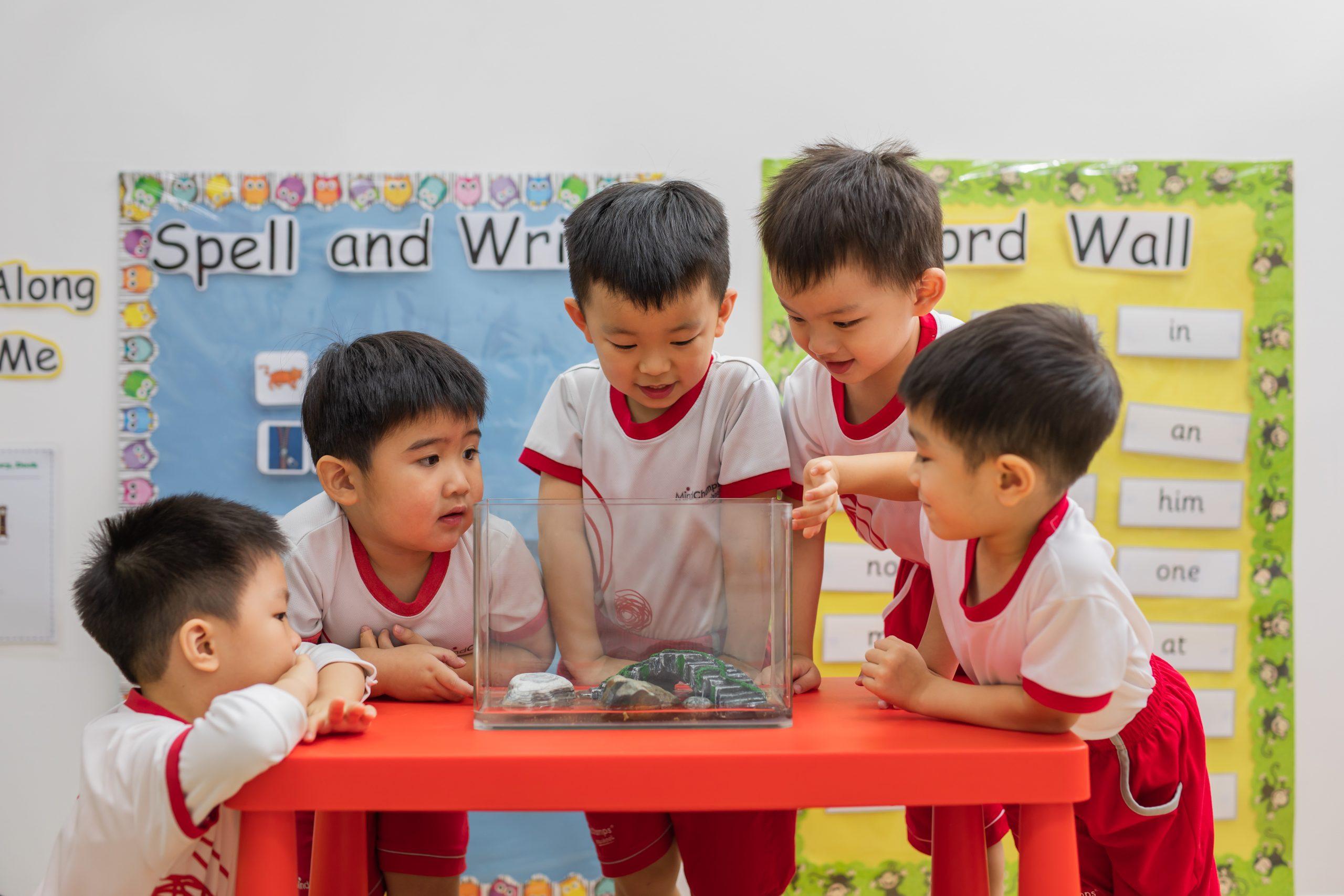 preschool at the brooks II in sembawang