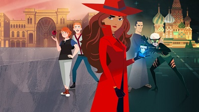 Educational Netflix Show: Carmen Sandiego