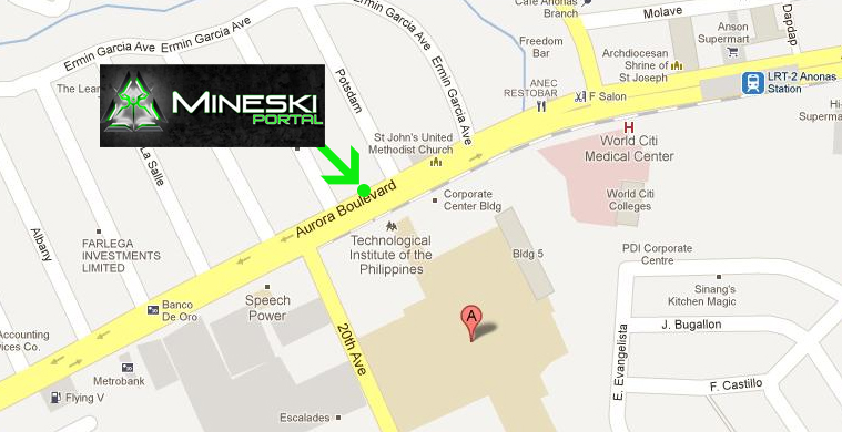 Mineski Portal TIP Location