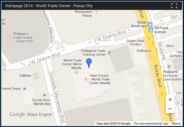 Summoners prepare Rampage 2014 is here Mineskinet – Map World Financial Center
