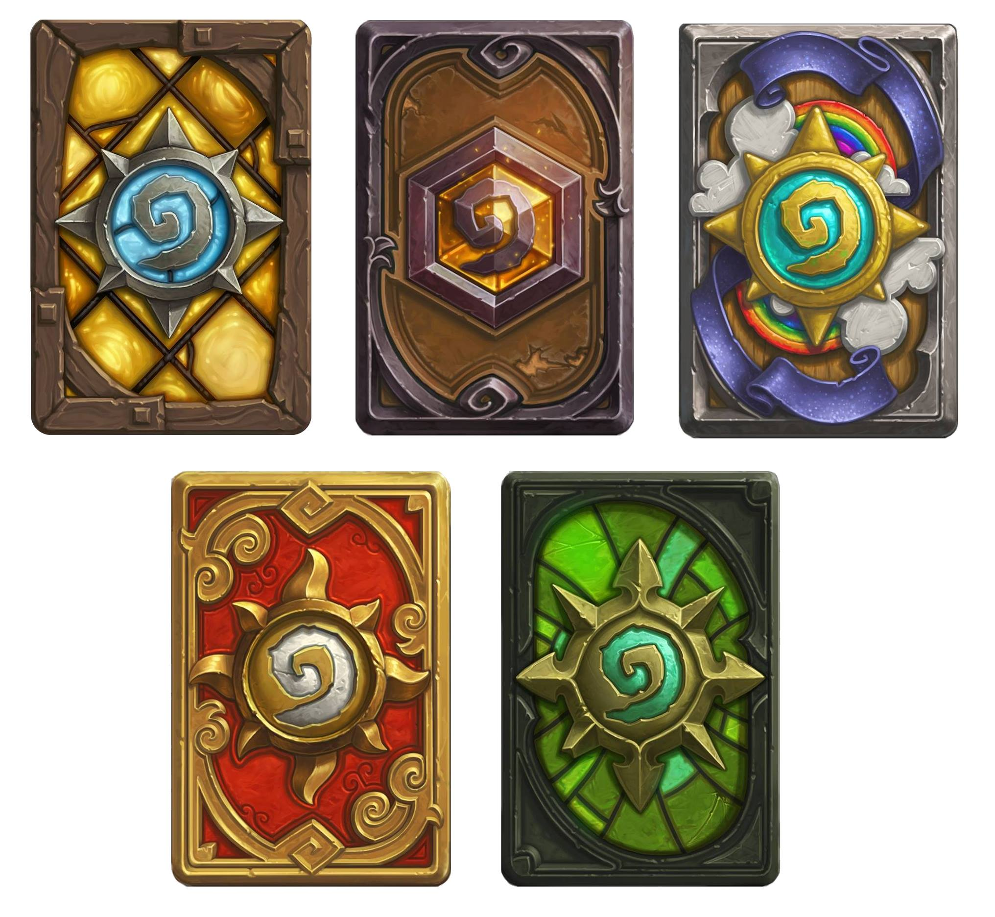 Hearthstone: Hearthstone Card Back Designs To Be Released!
