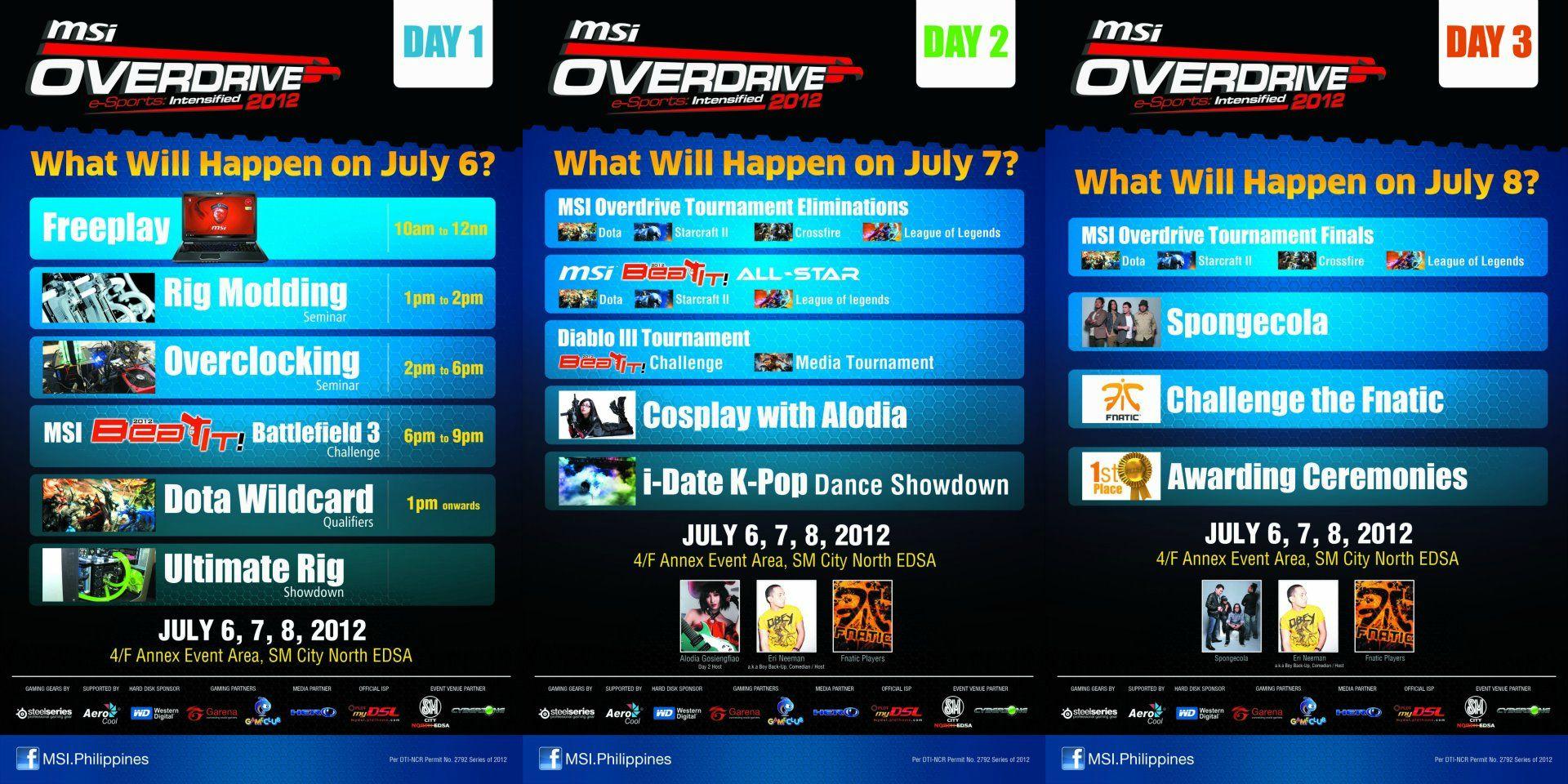 Msi Overdrive Live Updates Mineski Net