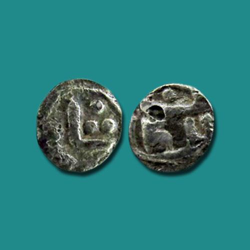 1/32-Silver-Tanka-of-Ghiyath-Al-Din-Azam-Shah