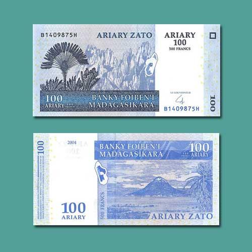 100-Ariary-banknote-Madagascar