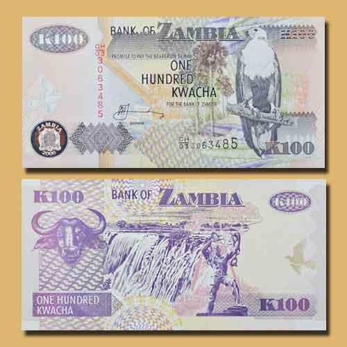100-Kwacha-Zambian-Note