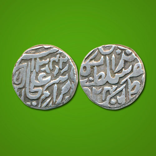 Silver-Rupee-of-Princely-State-of-Tonk
