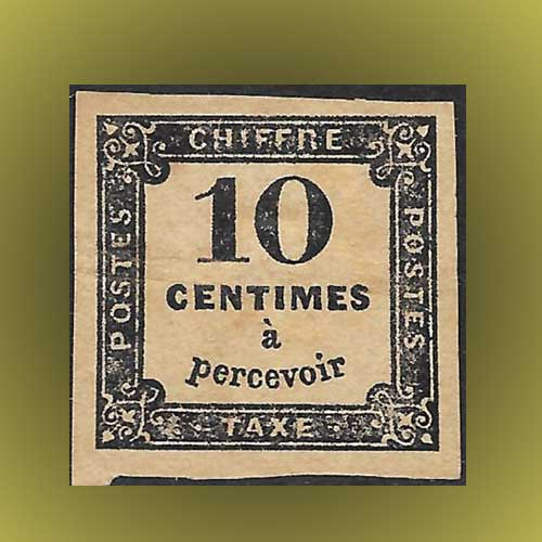 1859-10c-due-French-stamp