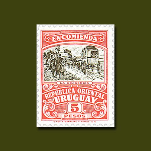 1946-Parcel-Post-Stamp-of-Uruguay