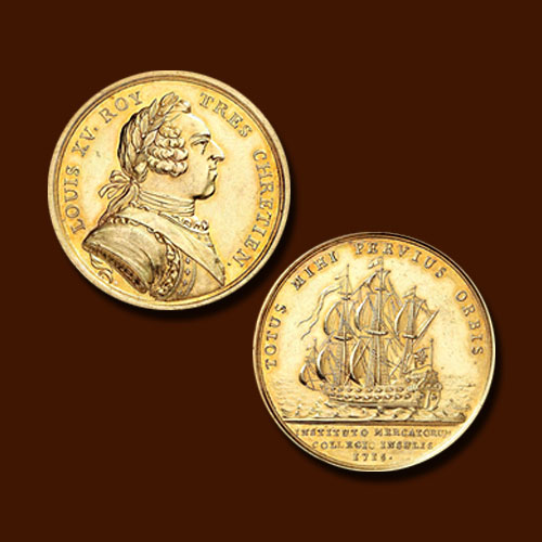 Rare-1917-French-Gold-Medal-Auctioned-for-€25,000