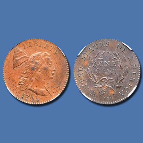 1794-Liberty-Cap-Cent-Sold-for-$47,000