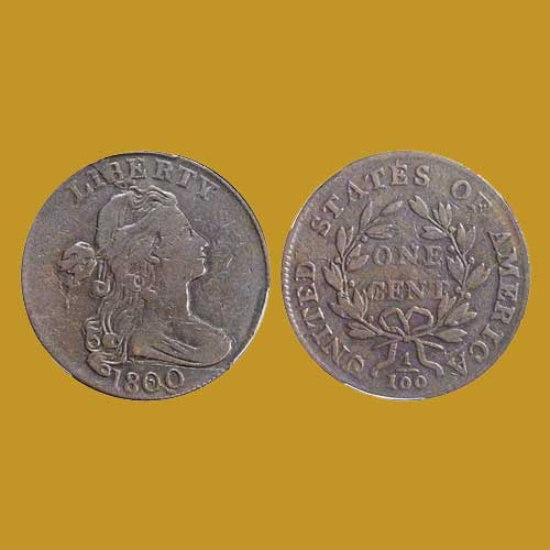 Interesting-1800-Draped-Bust-cent-Auctioned-for-$780