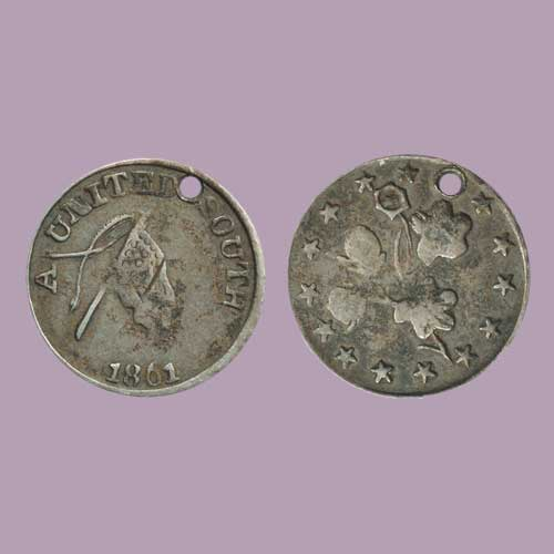Third-Reverse-Die-for-1861-Confederate-'half-dime'-Token-Discovered