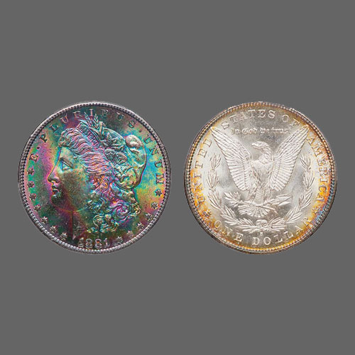 Colourful-MS-66-1881-S-Morgan-Dollar-Sold-For-$21,150
