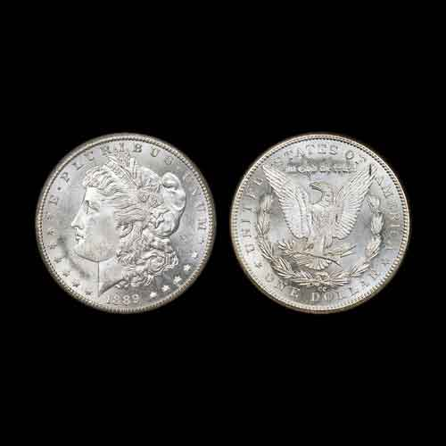 Rare-MS-64-1889-CC-Morgan-Dollar-from-Carson-City-Mint-to-be-Auctioned