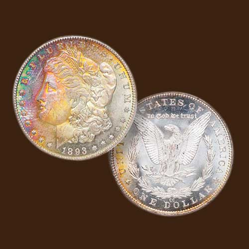 Colourful-1893-CC-Morgan-dollar-Auctioned-for-$20,562