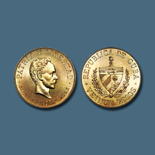 Six-Rare-1915-Gold-Cuban-Coins-Auctioned-for-$473,025