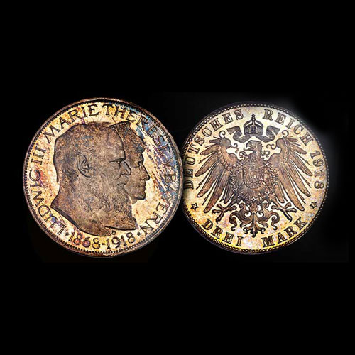 Cape-Coral-Collection-of-German-3-Marks