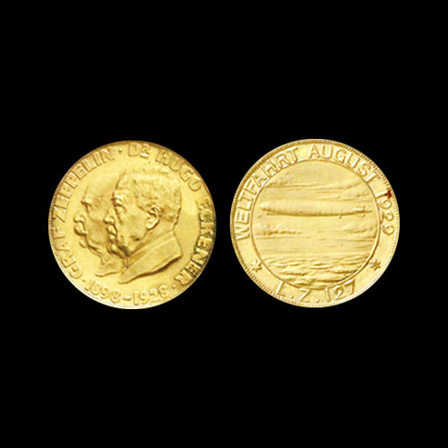 1929-Medal-Featuring-German-Airship-Auctioned