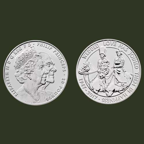 Special-Coins-to-Celebrate-70th-Wedding-Anniversary-of-the-Royal-Couple!