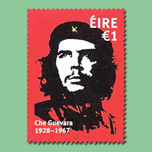 Che-Guevera-Stamp-is-Ireland's-Stamp-of-the-Year