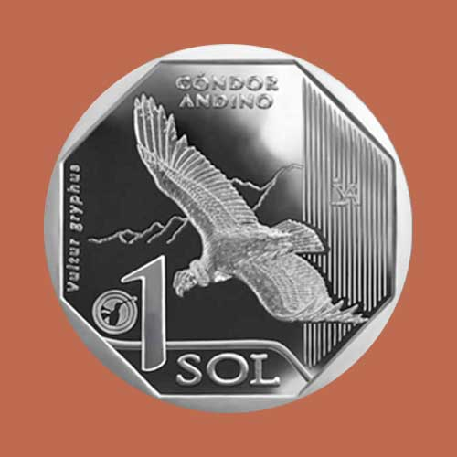 Andean-Condor-on-Latest-1-nuevo-sol-Coin-from-Peru