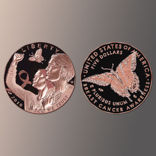 U.S.-Mint's-First-Ever-Pink-Gold-Coin-for-Breast-Cancer-Awareness