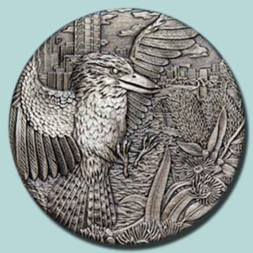 Perth-Mint-Releases-New-Coin-Featuring-Kookaburra-in-High-Relief