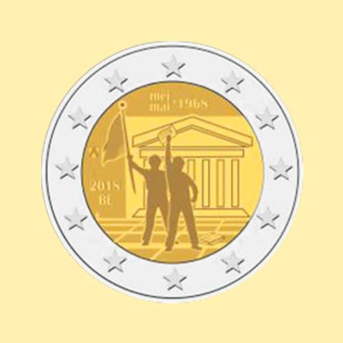 New-coin-Commemorates-50th-Anniversary-of-Belgium's-1968-Revolution