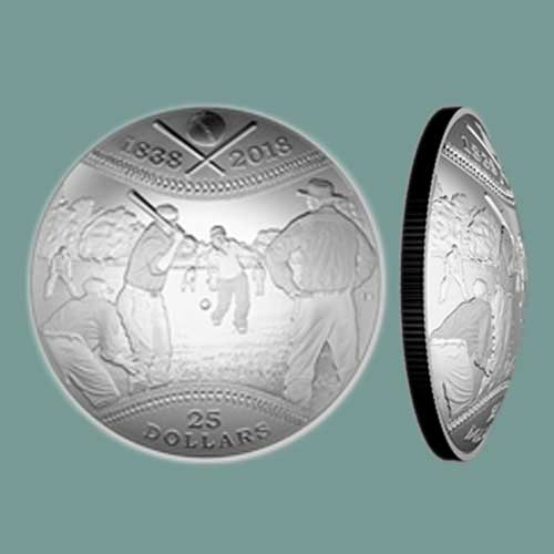 Canadian-Baseball-History-on-Latest-Concave/-Convex-Coin