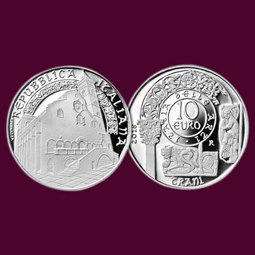 Cathedral-Basilica-of-Trani-on-New-Italian-Coins