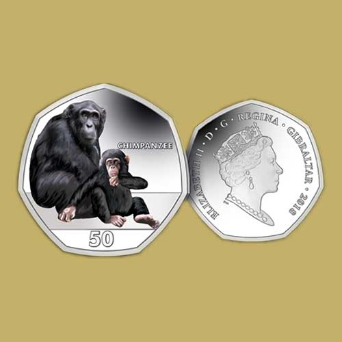 Chimpanzees-on-Latest-Coins-from-Gibraltar