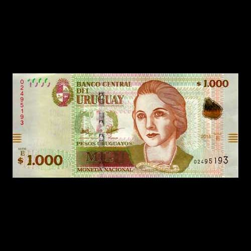 Uruguay-Issues-New-100-and-1,000-Peso-Banknotes
