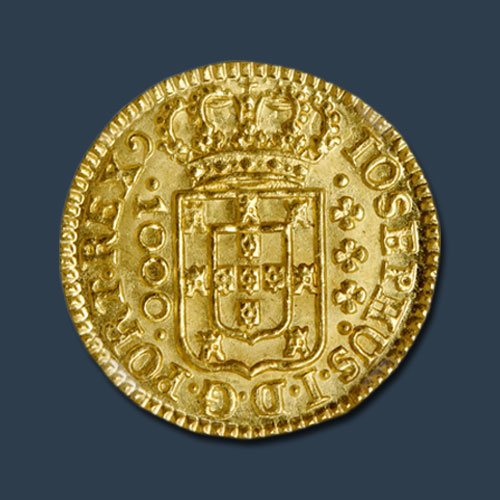 1000-Reis-Gold-Coin-–-The-Finest-Coin-of-18th-Century!