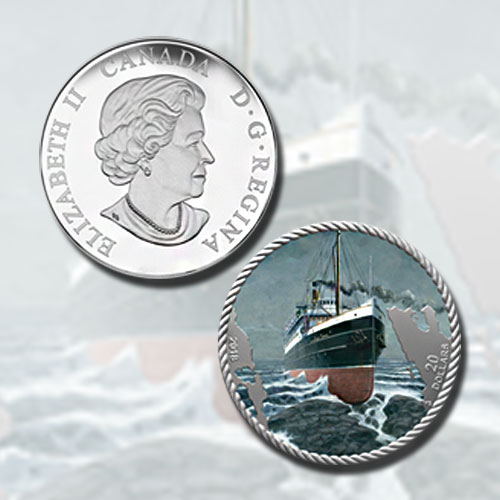 Coin-Remembers-SS-Princess-Sophia-Which-Sank-100-Years-Ago