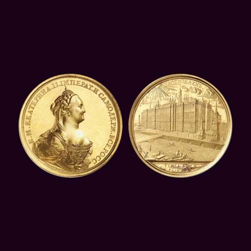 1773-Gold-Medal-Celebrating-Renovation-Project-for-Kremlin