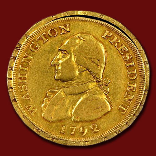 Unique-1792-Gold-Eagle-George-Washington-Coin-Sold-for-$1.7-Million