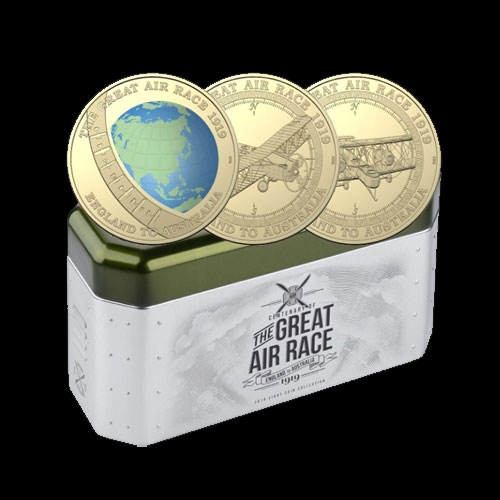 Australia's-Great-Air-Race-Coin-Collection