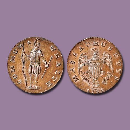 Fine-1788-Massachusetts-cent-Auctioned-for-$24,000