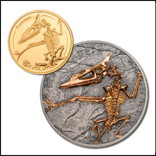 Fossils-of-a-Pterosaur-Named-Noripterus-Parvus-on-New-Mongolian-Coins