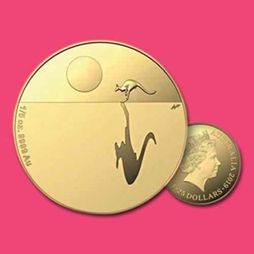 Kangaroo-at-Sunset-$25-Gold-Proof-Coin