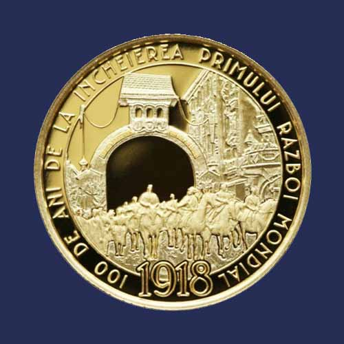 Romanian-Coins-Celebrate-the-End-of-World-War-I