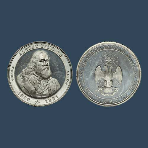 Unique-Albert-Pike-Medal-Auctioned-by-Heritage