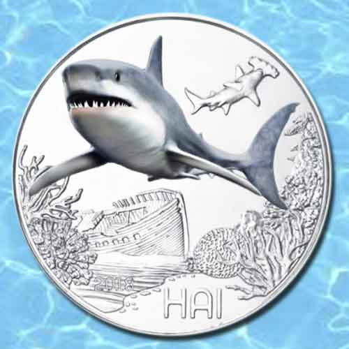 Deadly-Shark-Featured-on-Latest-Austrian-Glow-in-the-Dark-Coin
