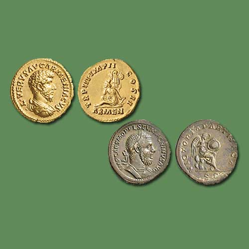 Roman-Coins-Celebrating-Victories-Auctioned