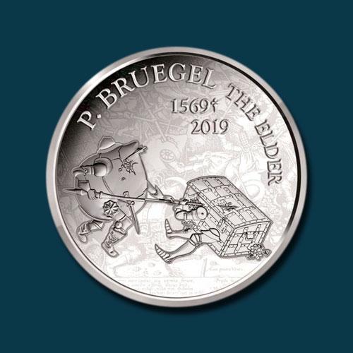 New-Belgium-Coins-Depict-Works-of-Renaissance-Artist-Breugel-the-Elder
