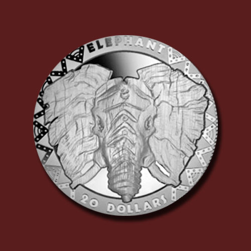 First-Coin-of-Big-Five-African-Animals-Series-Depicts-Elephant