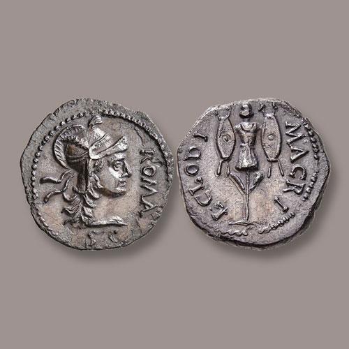 68-AD-Roman-Silver-Denarius-of-Clodius-Macer-Struck-in-Africa