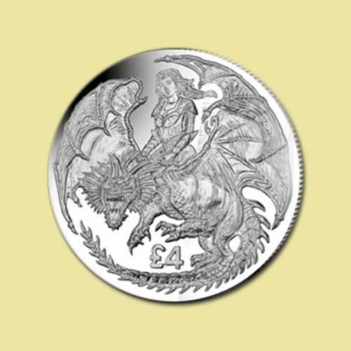 Warrior-Princess-and-Dragon-Coin